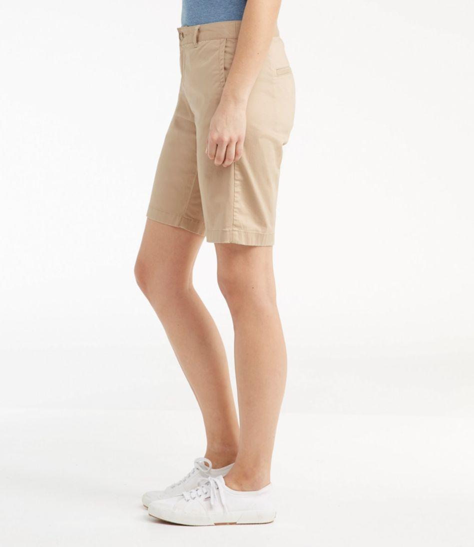 Washed Chino Bermuda Shorts