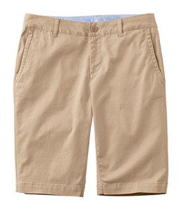 Women's Washed Chino Bermuda Shorts