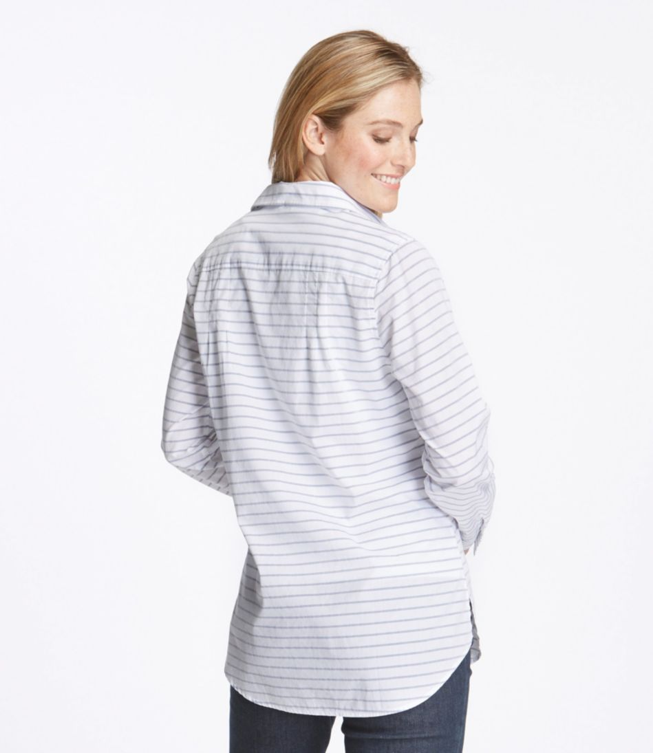Cotton Poplin Tunic, Stripe