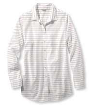 Cotton Poplin Tunic, Stripe