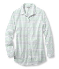 Cotton Poplin Tunic, Multistripe