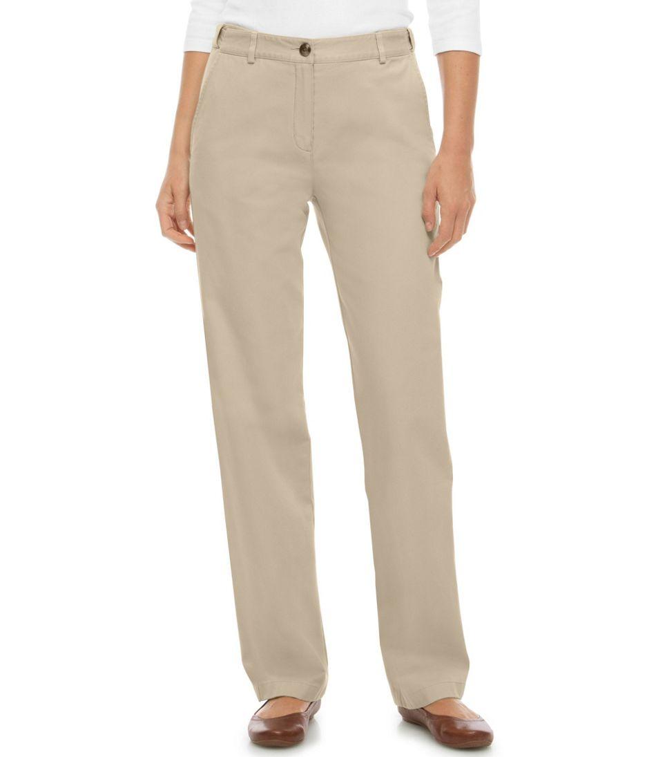 Wrinkle-Free Bayside Pants, Classic Fit Hidden Comfort Waist