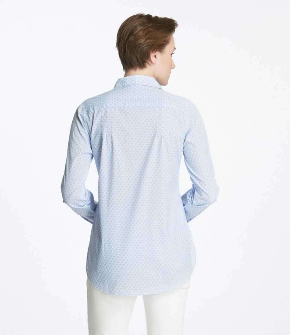 Cotton Poplin Tunic, Print