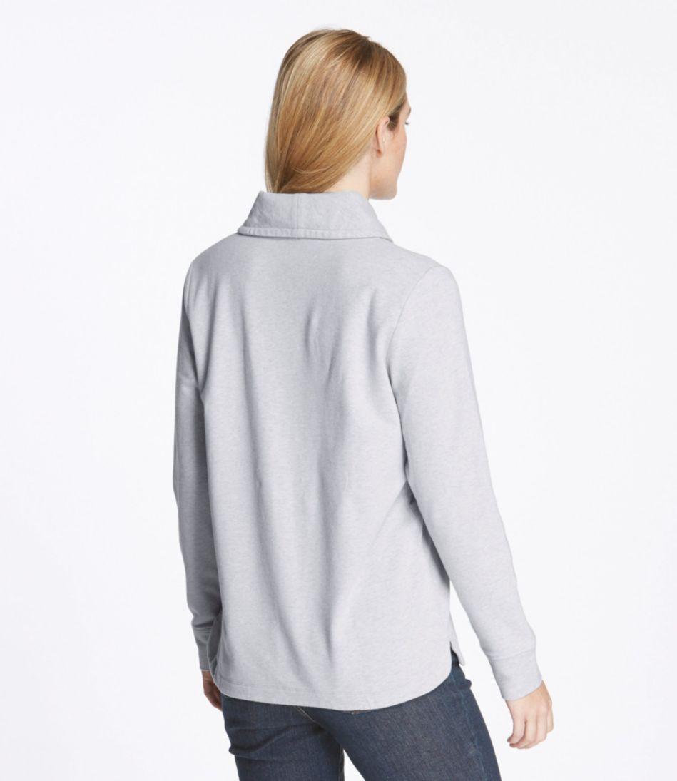 Ultrasoft Sweats, Shawl Collar Pullover