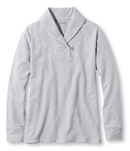 Ultrasoft Sweats, Shawl Collar Pullover