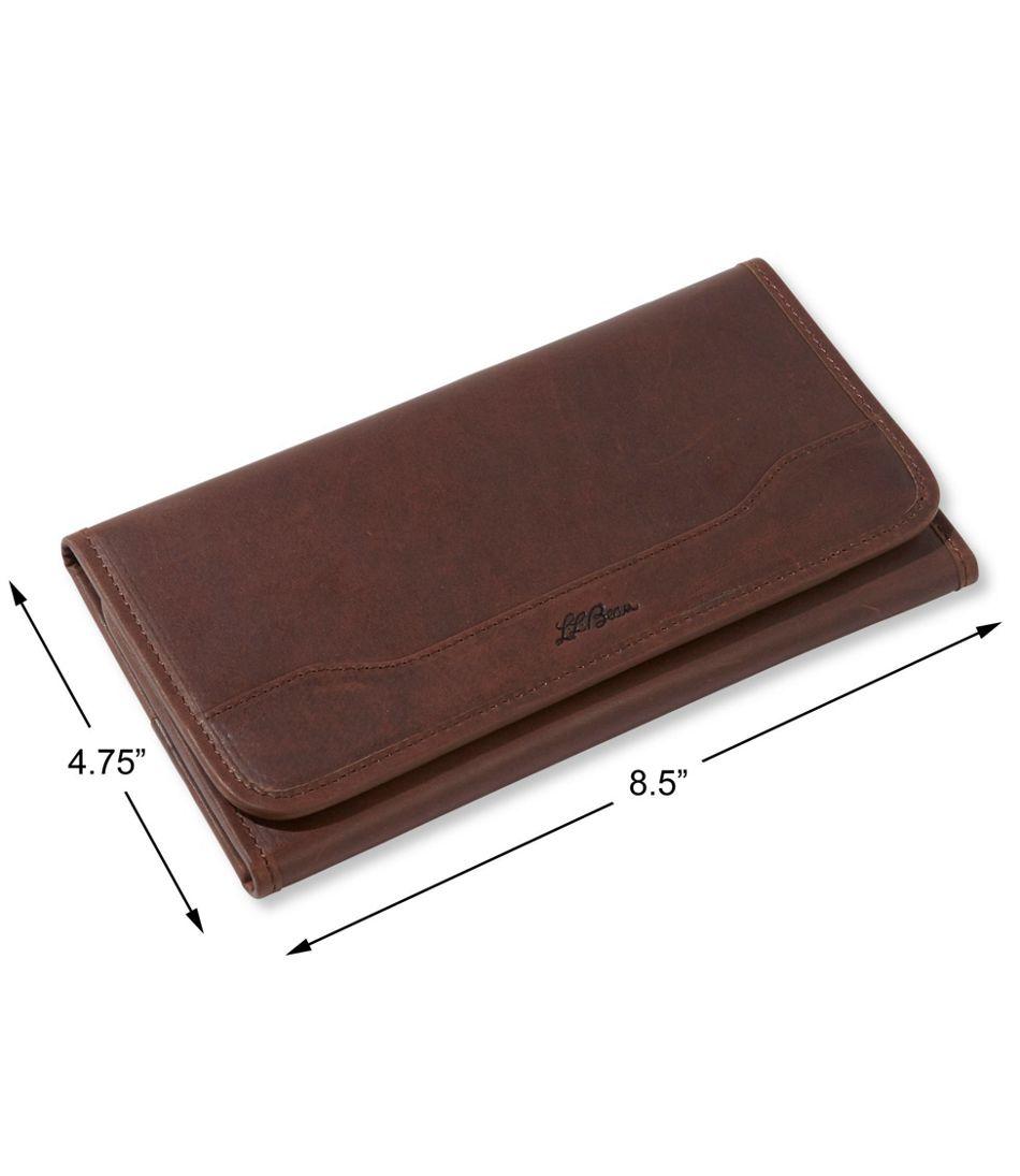 Field Leather Ticket Wallet