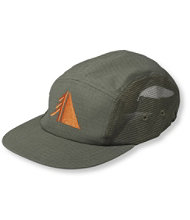 Mesh Zoned 5-Panel Hat Men's