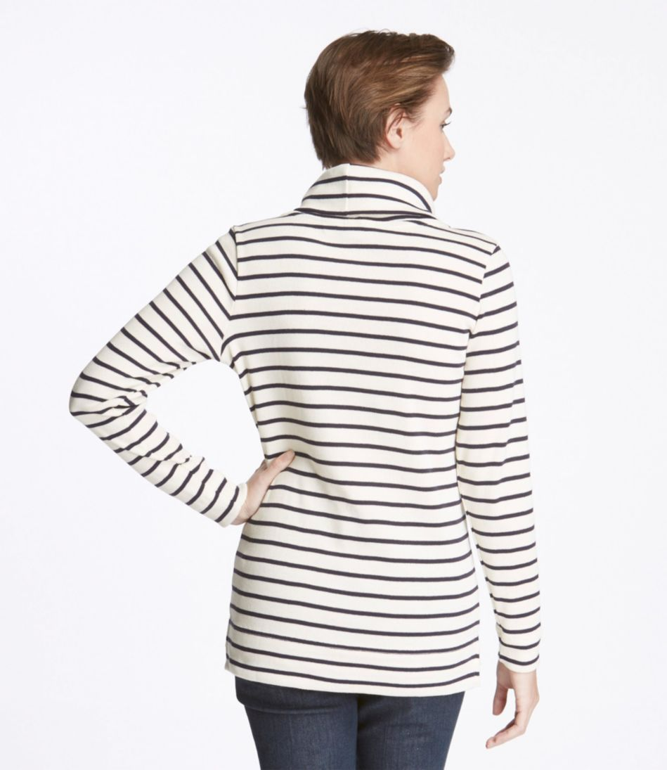 French Sailor's Shirt, Long-Sleeve Cowlneck