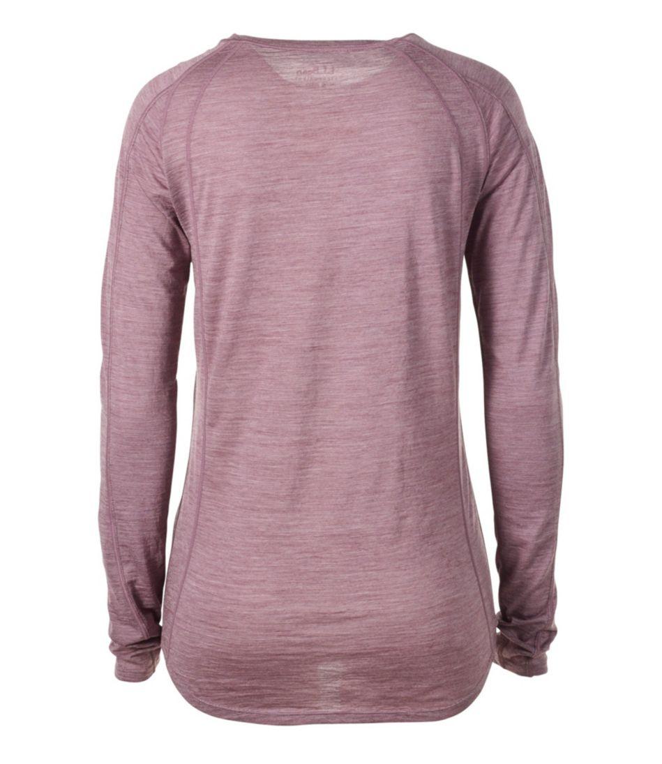 Cresta Wool Ultralight Base Layer, Long-Sleeve Stripe