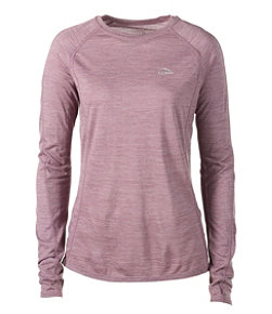 Women's Cresta Wool Ultralight Base Layer, Long-Sleeve Stripe