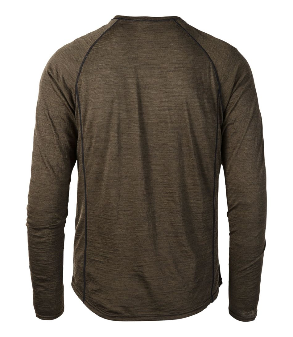 Men's Cresta Wool Ultralight 150 Base Layer, Long-Sleeve Stripe