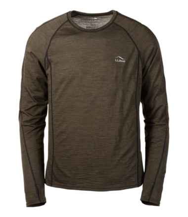 Men's Cresta Wool Ultralight 150 Base Layer, Long-Sleeve Stripe