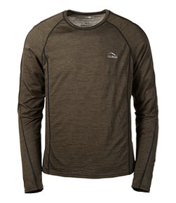 Cresta Wool Ultralight 150 Base Layer, Long-Sleeve Stripe