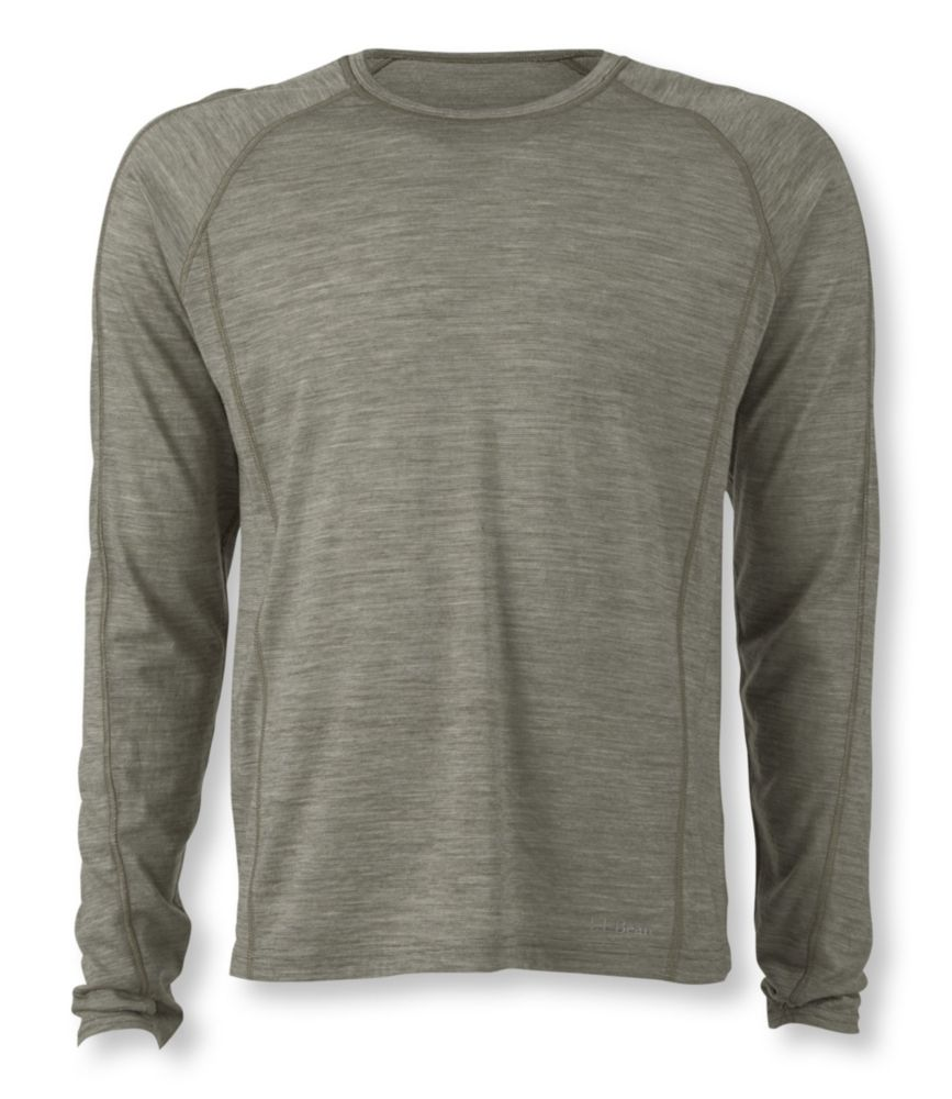 L.L.Bean Cresta Wool Lightweight Base Layer Long Sleeve