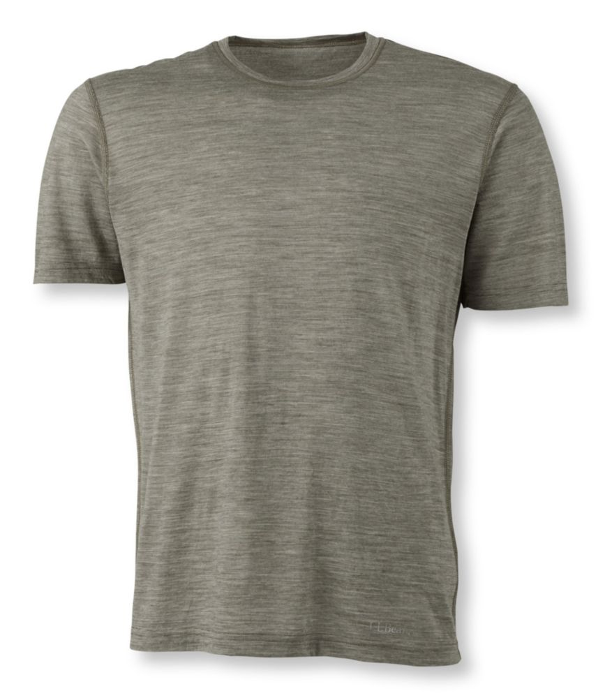photo: L.L.Bean Cresta Wool Ultralight Base Layer Short Sleeve