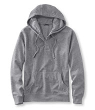 Double-Knit Pullover, Slightly Fitted Hoodie