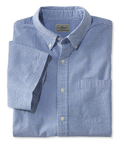 Seersucker Shirt, Traditional Fit Short-Sleeve Gingham