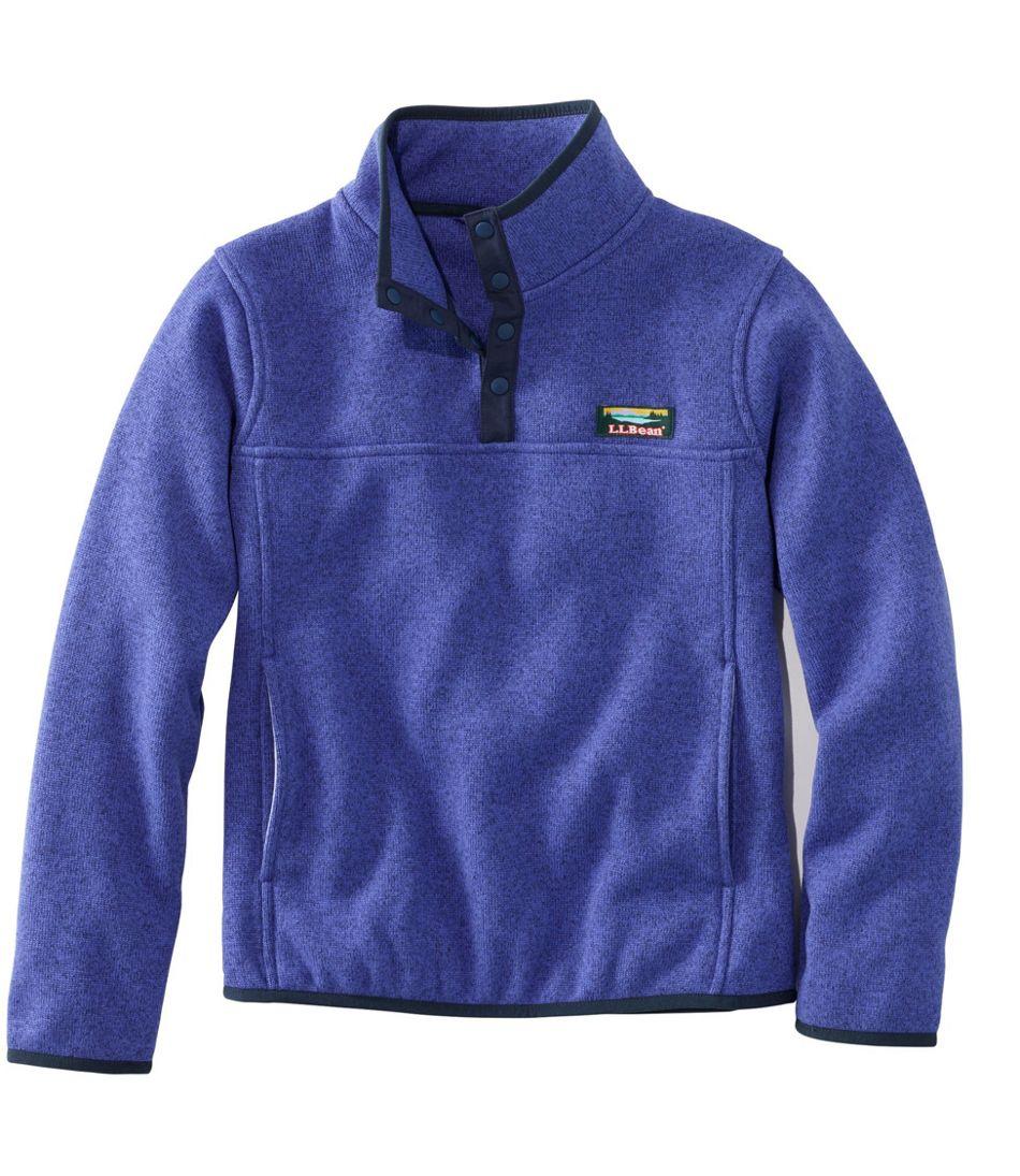Kids' L.L.Bean Sweater Fleece, Pullover