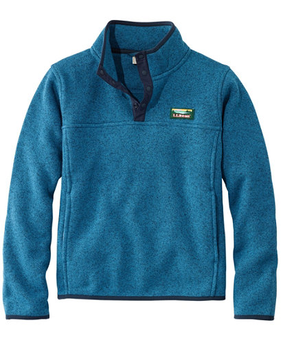 Kids' L.L.Bean Sweater Fleece, Pullover | Free Shipping at L.L.Bean.