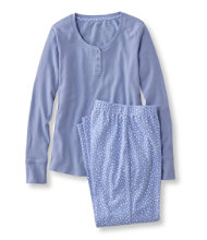 Ultrasoft Pajama Set, Long-Sleeve Print