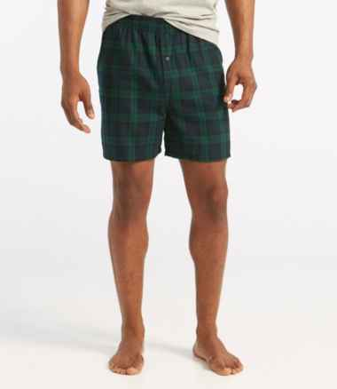 Men's Scotch Plaid Flannel Boxers