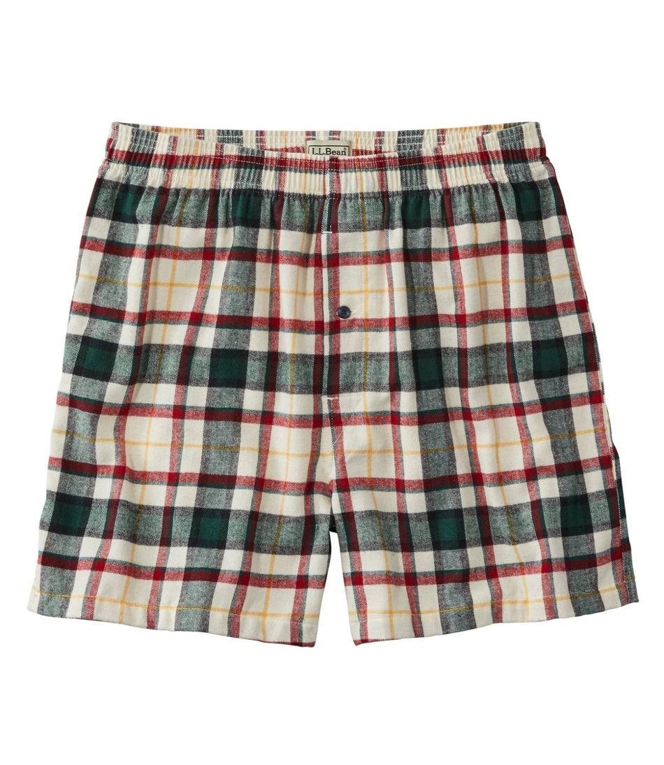 Scotch Plaid Flannel Boxers