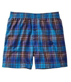 Men's Scotch Plaid Flannel Boxers