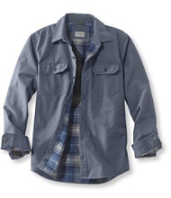 Flannel-Lined Allagash Shirt Jacket, Slightly Fitted