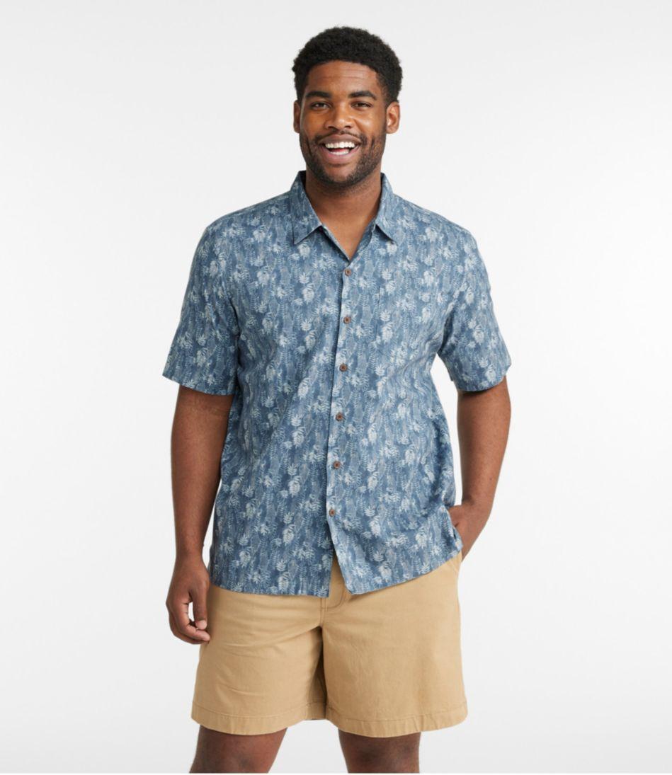Tropics Shirt, Short-Sleeve Print