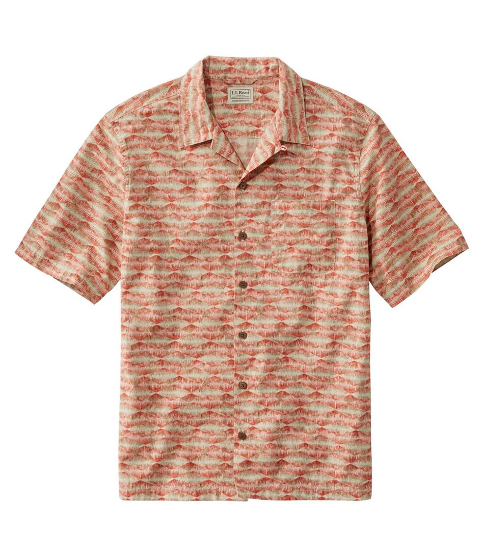 Tropics Shirt, Short-Sleeve Print