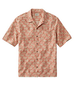 Men's Tropics Shirt, Short-Sleeve Print