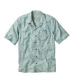 Men's Tropics Shirt, Short-Sleeve Print