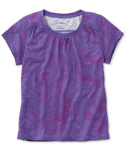Girls' Trail Tee, Print