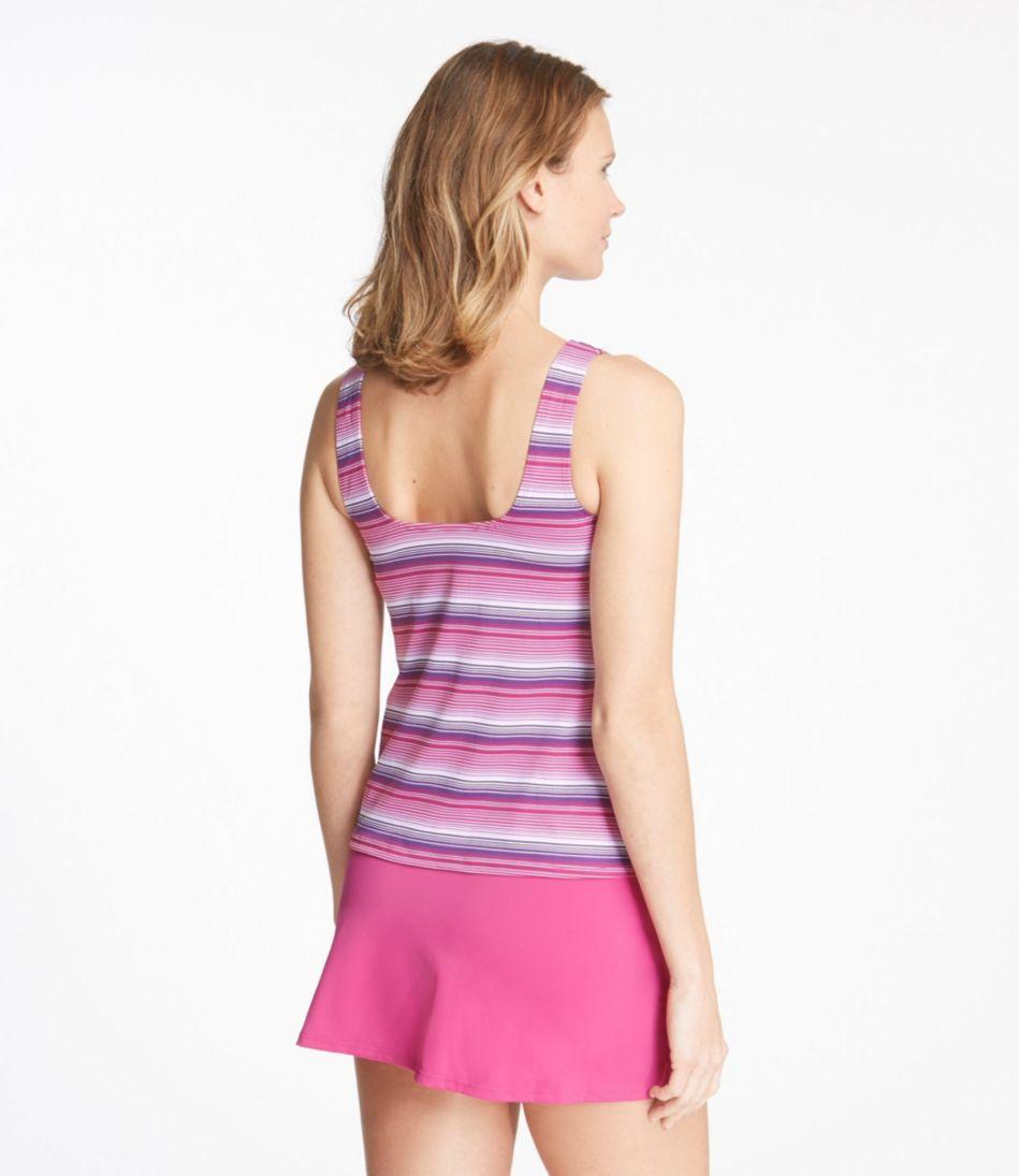 BeanSport® Swimwear, Tankini Top Scoopneck Stripe