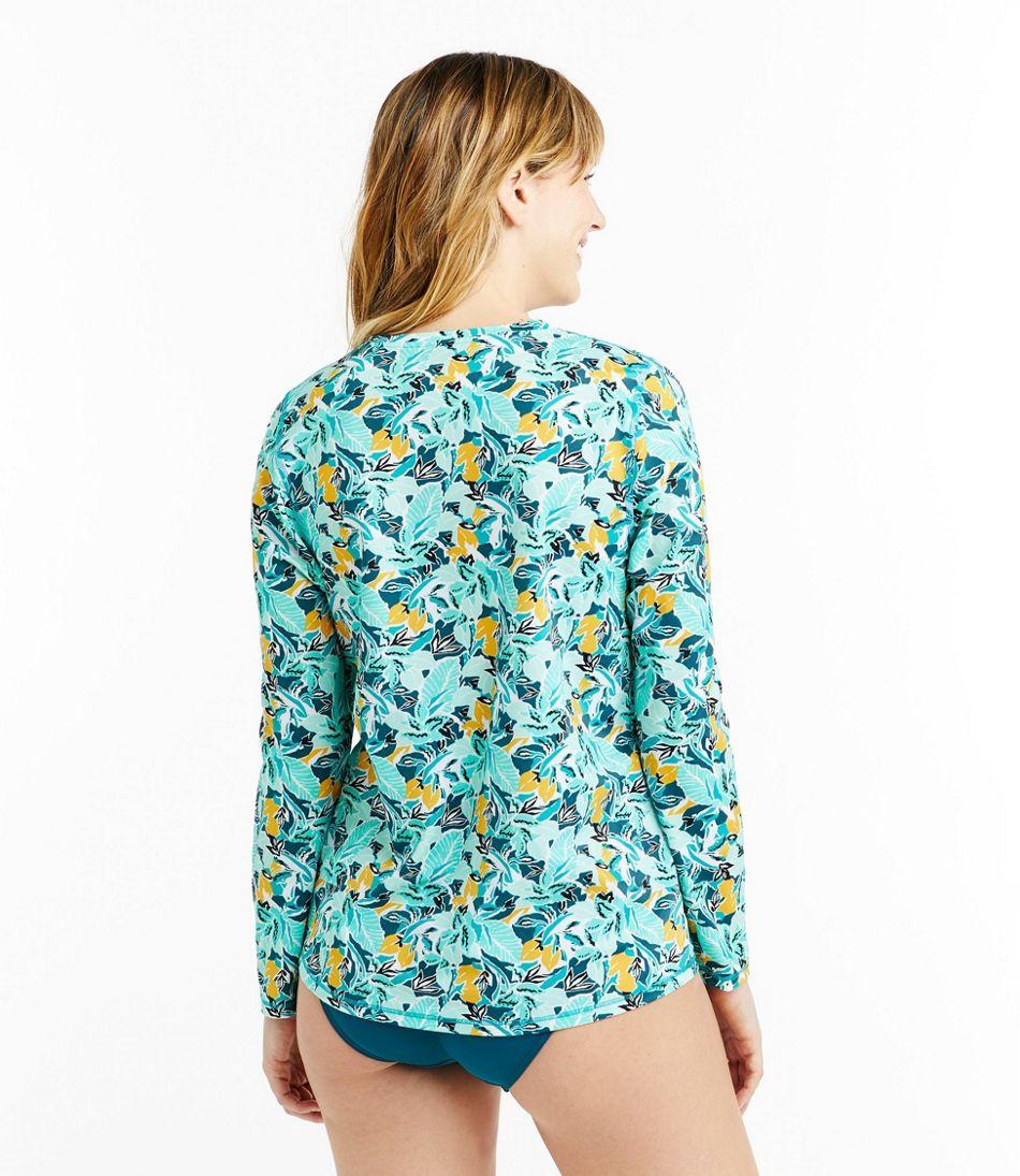Women's L.L.Bean UPF 50+ Sun Shirt, Print