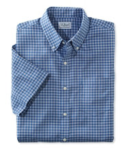 Wrinkle-Free Kennebunk Sport Shirt, Slightly Fitted Short-Sleeve Check