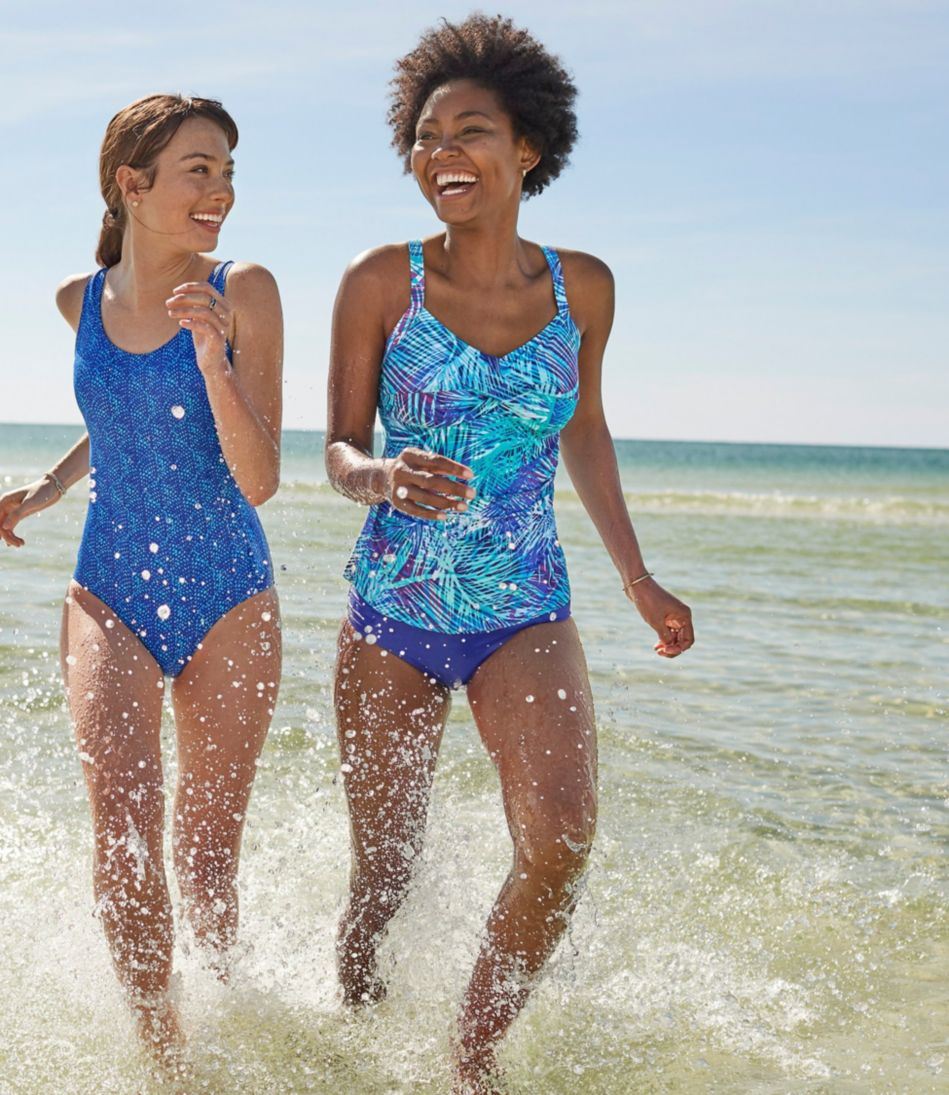 Slimming Swimwear, Tankini Top Print