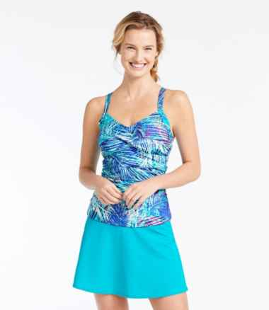 Women's Slimming Swimwear, Tankini Top Print