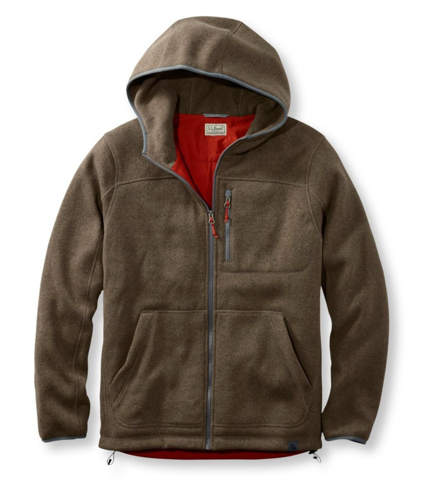photo: L.L.Bean Sweater Fleece Full-Zip Hooded Jacket
