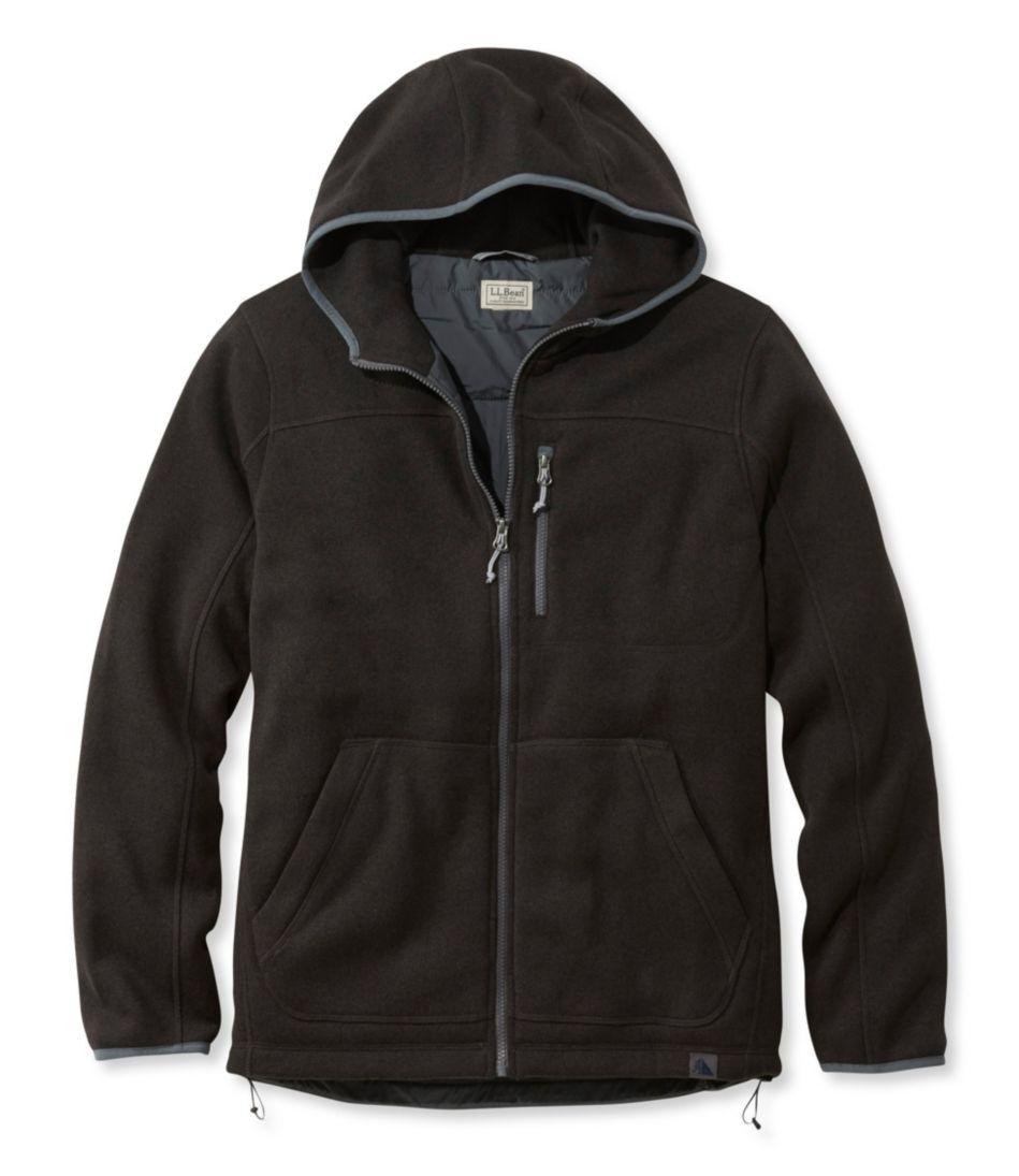 L.L.Bean Sweater Fleece, PrimaLoft Full-Zip Hooded Jacket