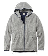 L.L.Bean Sweater Fleece, PrimaLoft Full-Zip Hooded Jacket