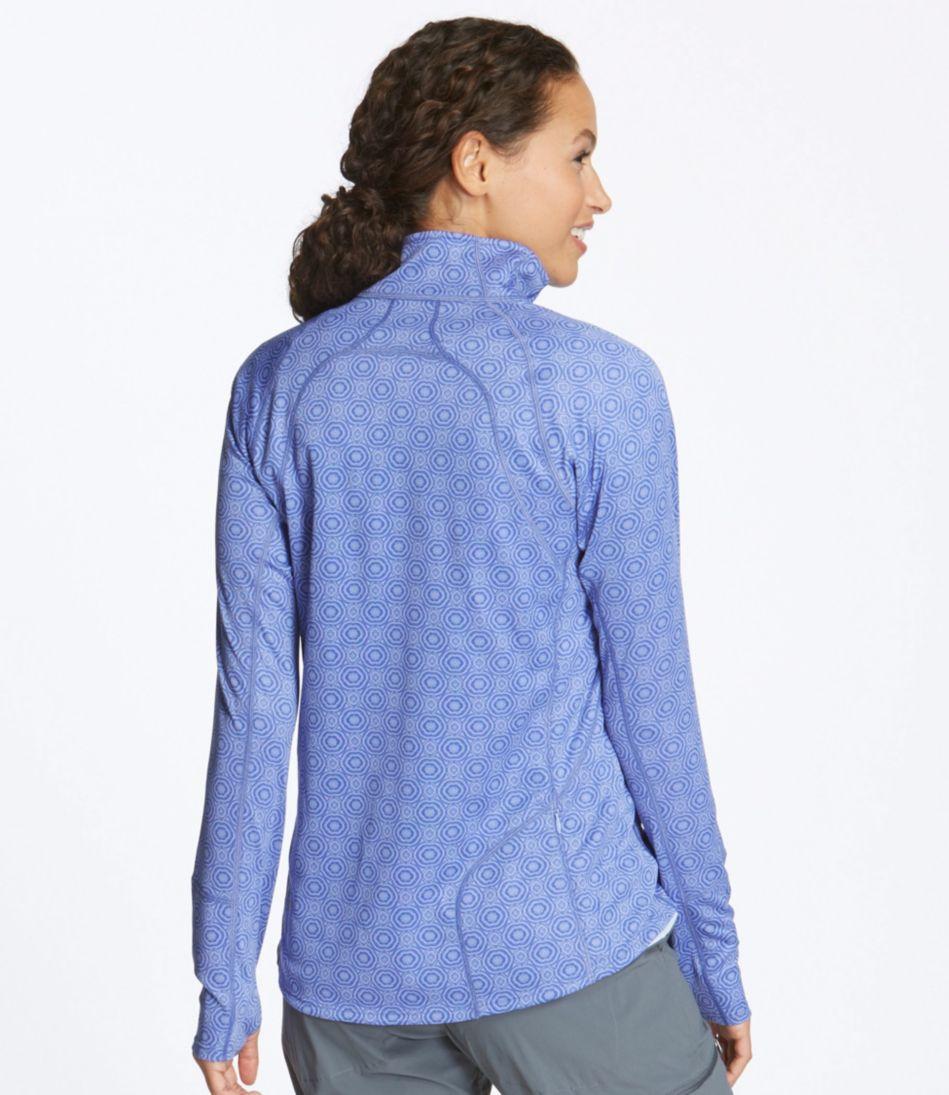 BeanSport Tops, Quarter-Zip Pullover Geo Print