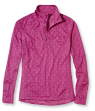BeanSport Tops, Quarter-Zip Pullover Geo Print