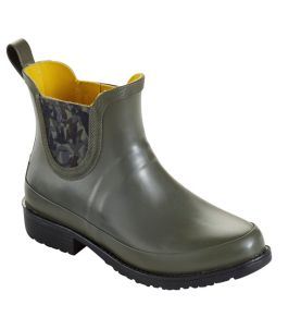 L.L.Bean Wellies Rain Boots, Ankle