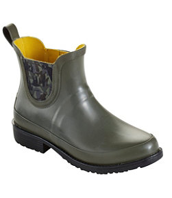 Women's L.L.Bean Wellies Rain Boots, Ankle