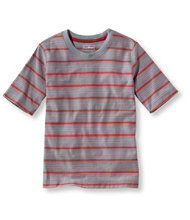 Boys' Unshrinkable Tee, Short-Sleeve Stripe