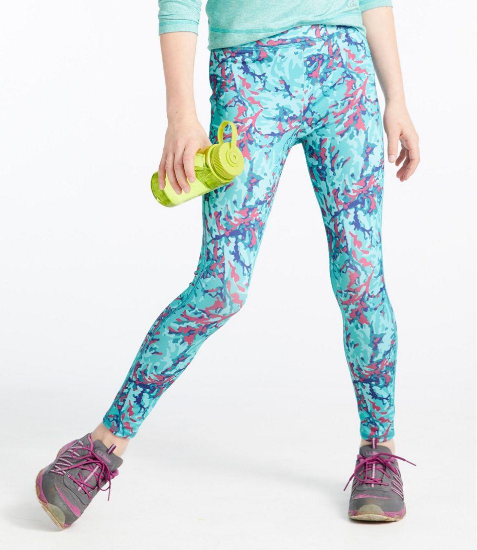 Girls' L.L.Bean Tech Legging, Print