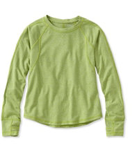 Girls' Power Tee, Long-Sleeve