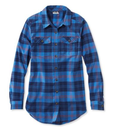 Whisper Lodge Flannel Tunic