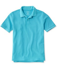 Premium Double L Polo, Slightly Fitted Banded Short-Sleeve Without Pocket